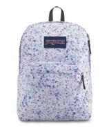 Jansport Super Break Backpack Splatter Dot White