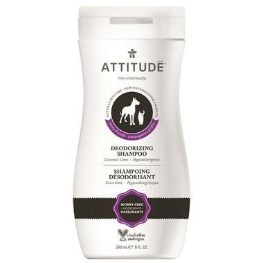 Attitude Furry Friends Deodorizing Pet Shampoo Coco Lime
