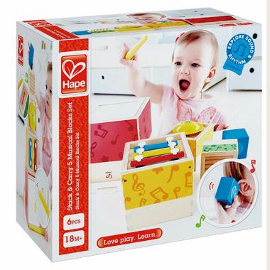 Hape Toys Stacking Music Set