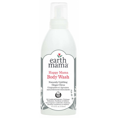 Earth Mama Happy Mama Body Wash 34 Oz