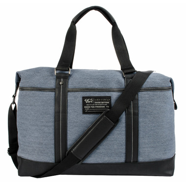 Buffalo David Bitton Robinson Denim Duffle Blue