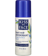 Kiss My Face Liquid Rock Deodorant Mineral Roll-On Fragrance Free