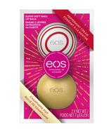 EOS Peppermint Cream & Champagne Pop Lip Balms