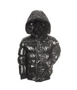 Appaman Black Glitter Puffy Coat