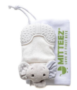 MITTEEZ The Ultimate Organic Teething Mitty Ella the Elephant Gray