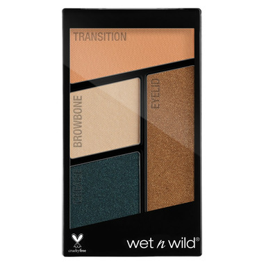 Wet n Wild Color Icon Eyeshadow Quad Hooked on Vinyl