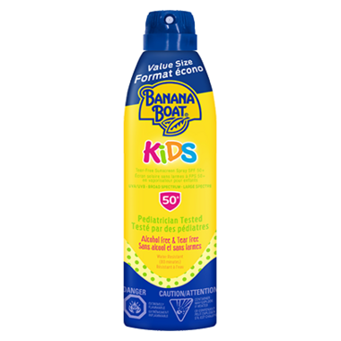 Banana Boat Kids Tear Free Sunscreen Spray SPF 50