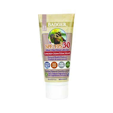 Badger Sheer Tint Sunscreen Cream SPF 30