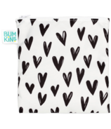 Bumkins Reusable Snack Bag Large Hearts