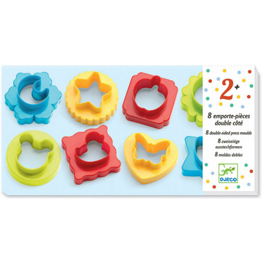 Djeco Modelling Dough Moulds