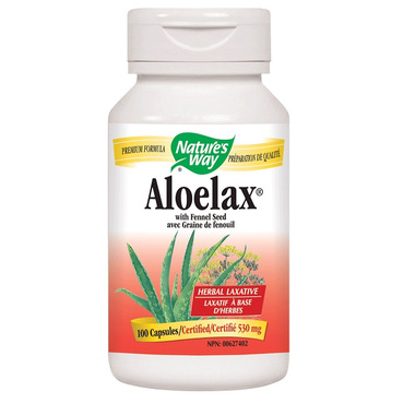Nature\'s Way Aloelax Laxative Capsules