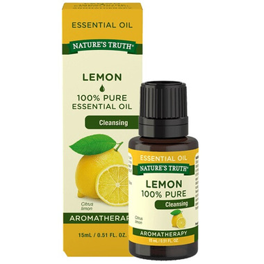 Nature\'s Truth Aromatherapy 100% Pure Cleansing Lemon Oil