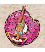 BigMouth Inc. Frosted Donut Beach Blanket