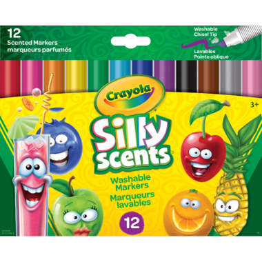 Crayola Silly Scents Wedge Tip Markers