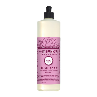 Mrs. Meyer\'s Clean Day Dish Soap Peony