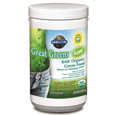 Garden of Life Great Greens RAW Organic Greens Food