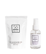 So Luxury Coco Oat Little + Mini Magnesium Oil Bundle