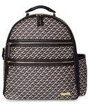 Skip Hop Deco Saffiano Diaper Backpack Black