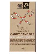 Galerie au Chocolat White & Dark Chocolate Candy Cane Bar