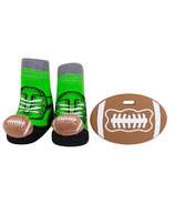 Waddle Football Rattle Socks + Teether Gift Set