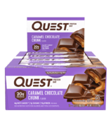 Quest Nutrition Protein Bar Caramel Chocolate Chunk Case