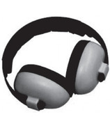 Banz Bluetooth Earmuffs Baby Mini Grey