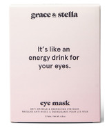 Grace & Stella Co. Anti-Wrinkle + Energizing Eye Masks 12 Pairs