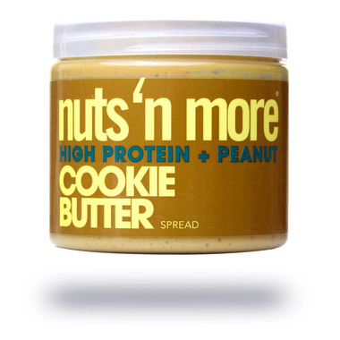 Nuts n More Cookie Butter High Protein Peanut Spread