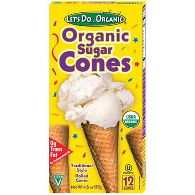 Let\'s Do...Organic Sugar Cones