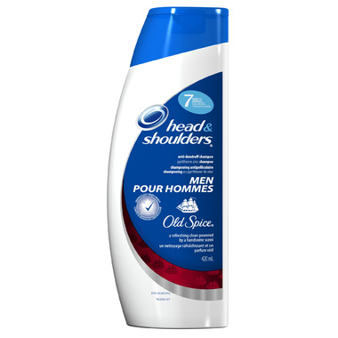 Head & Shoulders with Old Spice Shampoo