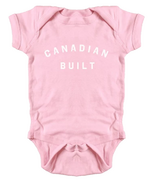 Peace Collective Canadian Built Infant Onesie Pink