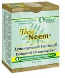 TheraNeem Lemongrass & Patchouli Botanical Cleansing Bar