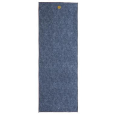 Manduka yogitoes Skidless Towels Denim Collection Indigo Denim