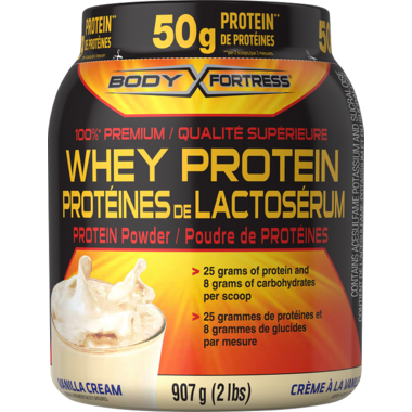 Body Fortress Whey Protein Powder Vanilla