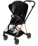 Cybex Mios Rose Gold Frame with Premium Black Seat Pack