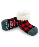 Pudus Classic Lumberjack Red Socks Kids
