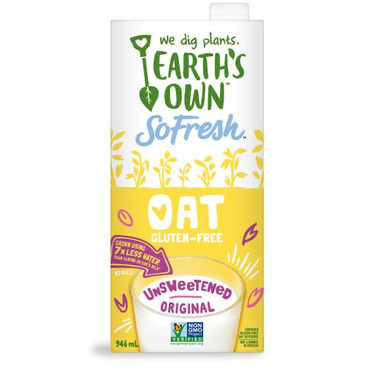 Earth\'s Own SoFresh Oat Unsweetened Original