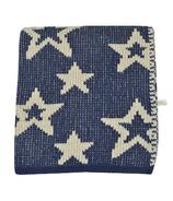 Perlimpinpin Chenille Blanket Navy Stars