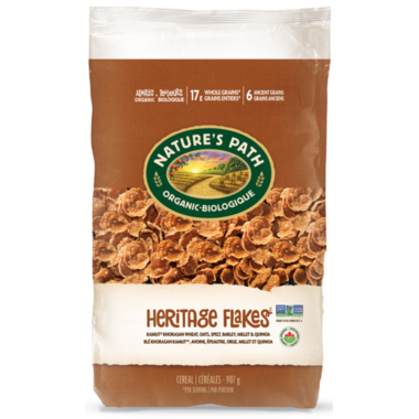 Nature\'s Path Organic Heritage Flakes Cereal Eco Pack