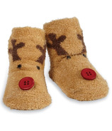 Mud Pie Chenille Reindeer Socks
