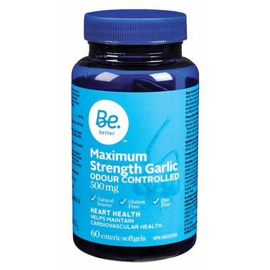 Be Better Maximum Strength Garlic
