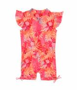 Snapper Rock Tropical Punch Flutter Sleeve Sunsuit