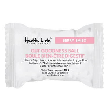 Health Lab Gut Goodness Ball Berry