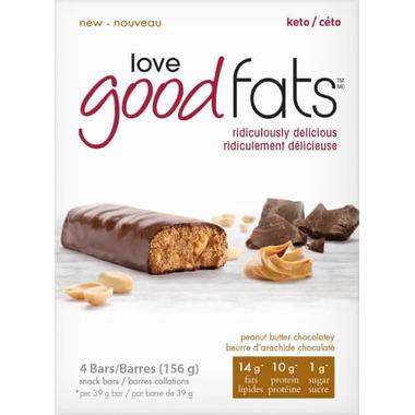 Love Good Fats Peanut Butter Chocolatey Snack Bar