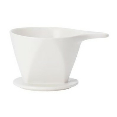 W&P Design Pour Over Dripper White
