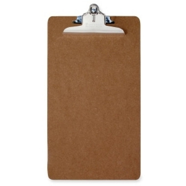 Saunders Recycled Clipboard with Action Clips