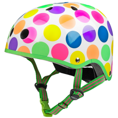 Micro of Switzerland Neon Dots Helmet
