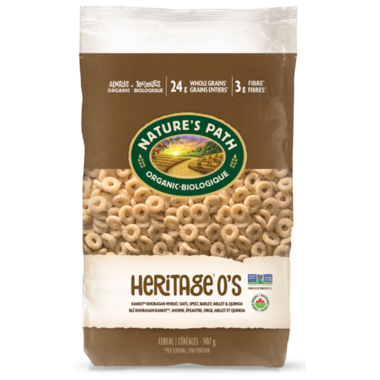 Nature\'s Path Organic Heritage O\'s Cereal Eco Pack