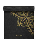 Gaiam Studio Select 6mm Printed Yoga Mat Bronze Medallion