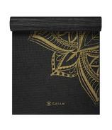 Gaiam Studio Select 6mm Printed Yoga Mat Bronze Medallion